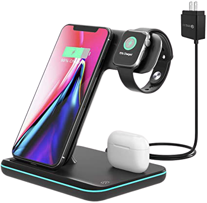 Moing Wireless Charging Station