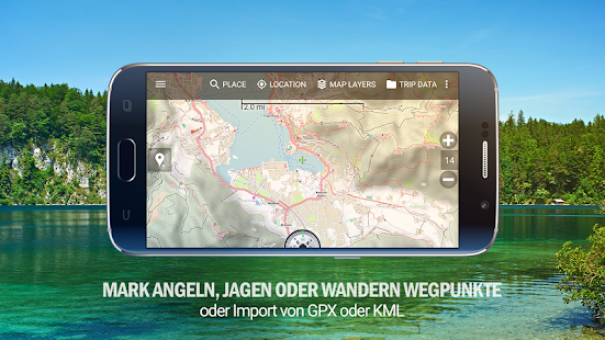 topo gps app android