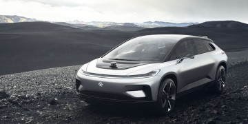 China Elektro Auto Faraday Future