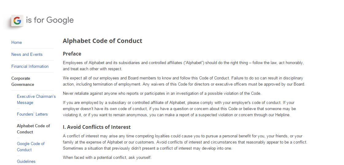 Google-Alphabet-Code-of-conduct