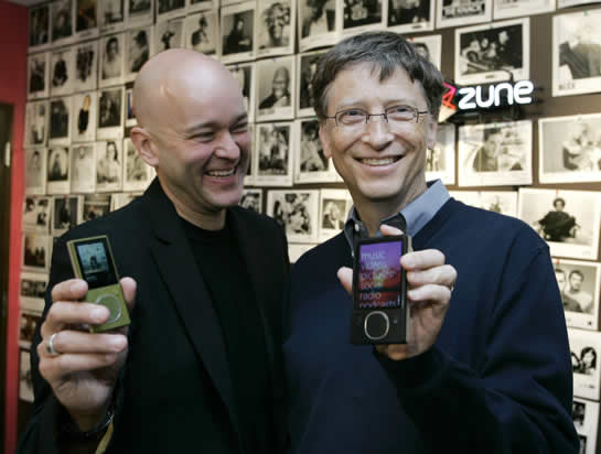 Failed Microsoft Products - Zune