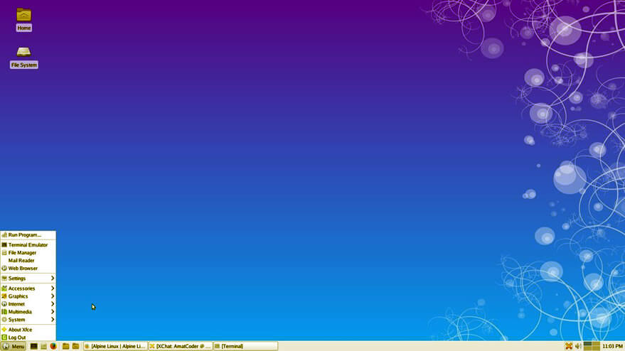 Alpine Linux - secure and privacy-focused linux distro