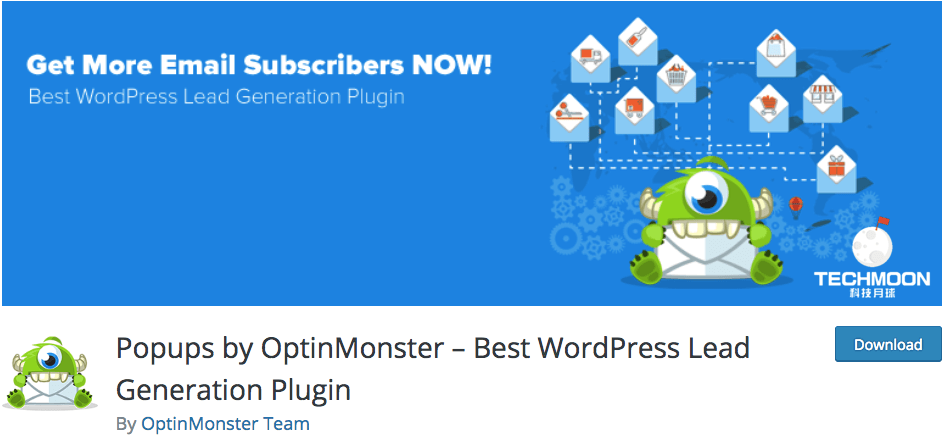 Popups by OptinMonster – Best WordPress Lead Generation Plugin
