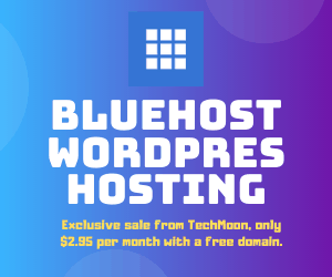 Bluehost best deal from TechMoon