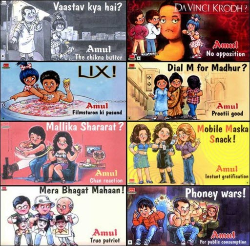 Amul Butter And Bollywood