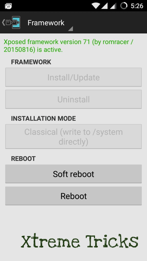 Install Xposed Framework In Android 5.0 or 5.1 Lollipop
