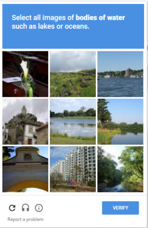 What is captcha images
