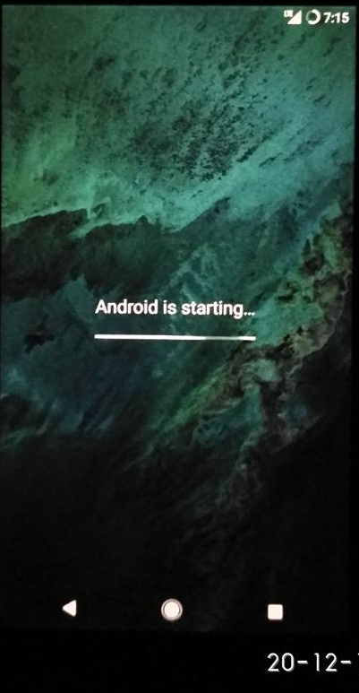 Fix Android is Starting Error