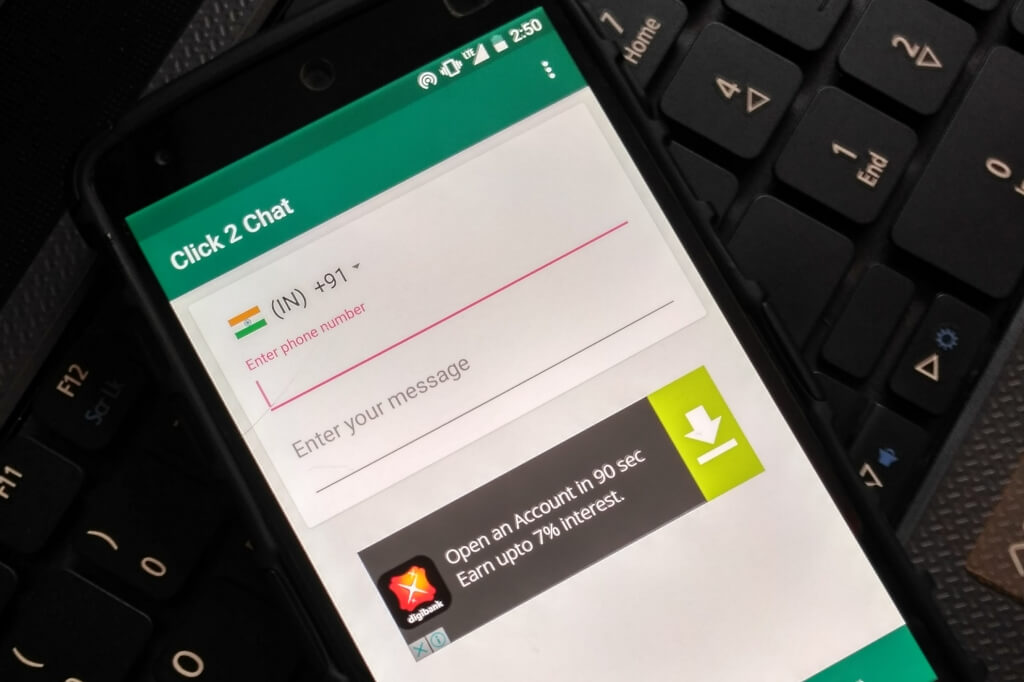 Chat With Anyone On WhatsApp Without Saving Number