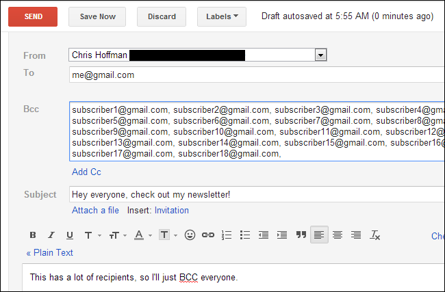 Difference Between CC and BCC When Sending an Email?