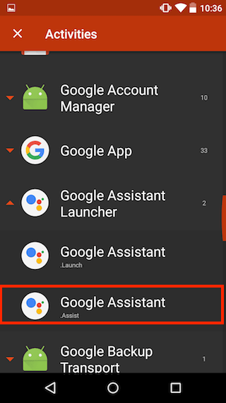 Enable Google Assistant on Android Lollipop