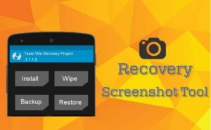 Take Screenshots in CWM/TWRP Recovery