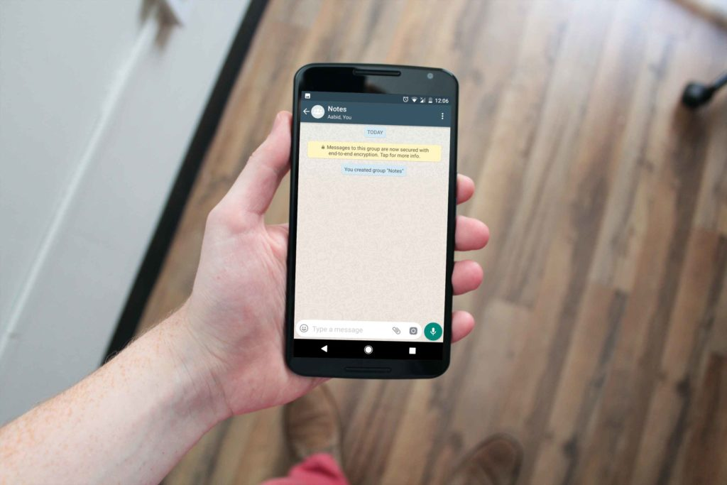 Use WhatsApp As Your Personal Note Making & Bookmarking App (1)