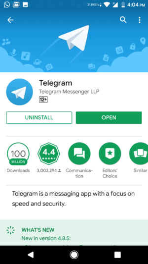Use Telegram inRussia, Iran, Pakistan & Other Banned Countries (10)