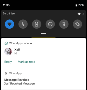 Read Deleted WhatsApp Message