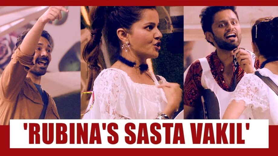 """BIGG BOSS 14: Rubina's """"Sasta Waqeel"""" title does not go over well with fans."""