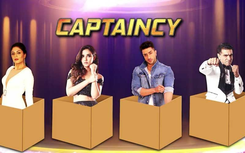 BIGG BOSS 14: Kavita and Jasmin in a box for the Captaincy task and Rahul Vaidya spends the night outside.