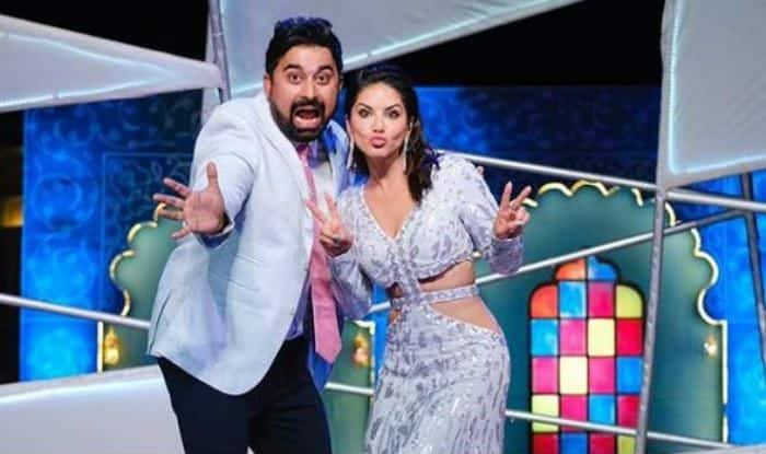 Rannvijay Singha and Sunny Leone in Splitsvilla