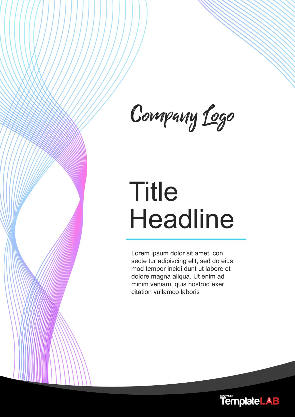 Design Portfolio Template Word In Cover Pages For Word Templates