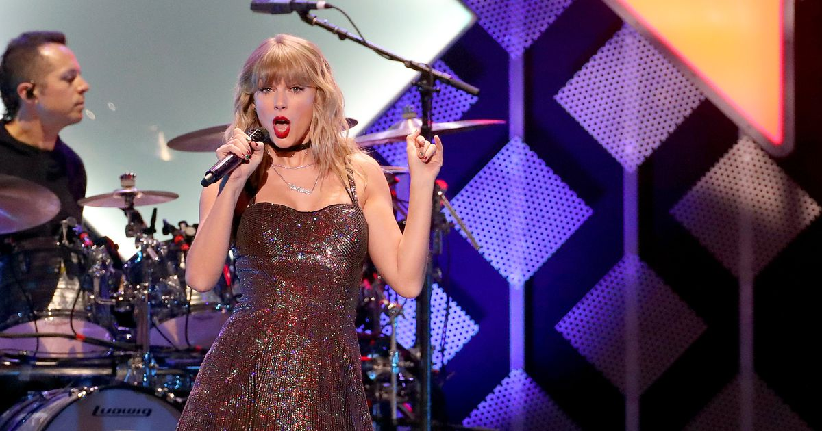 Taylor Swift announces surprise album to be released at midnight