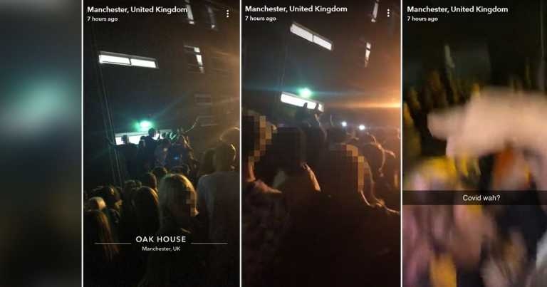 'Rule of six' ignored by university students at illegal rave
