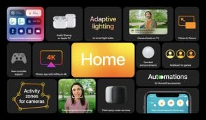 About Apple's tvOS 14
