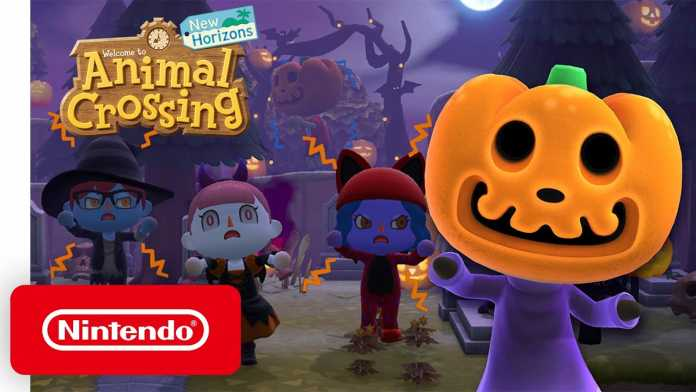 Animal Crossing: New Horizons gets a Halloween update