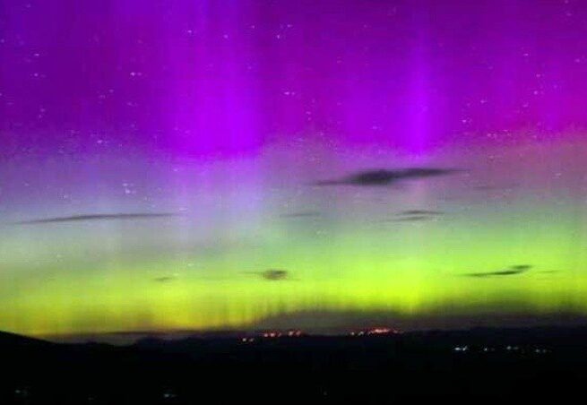 The United States will see the Aurora Borealis tonight
