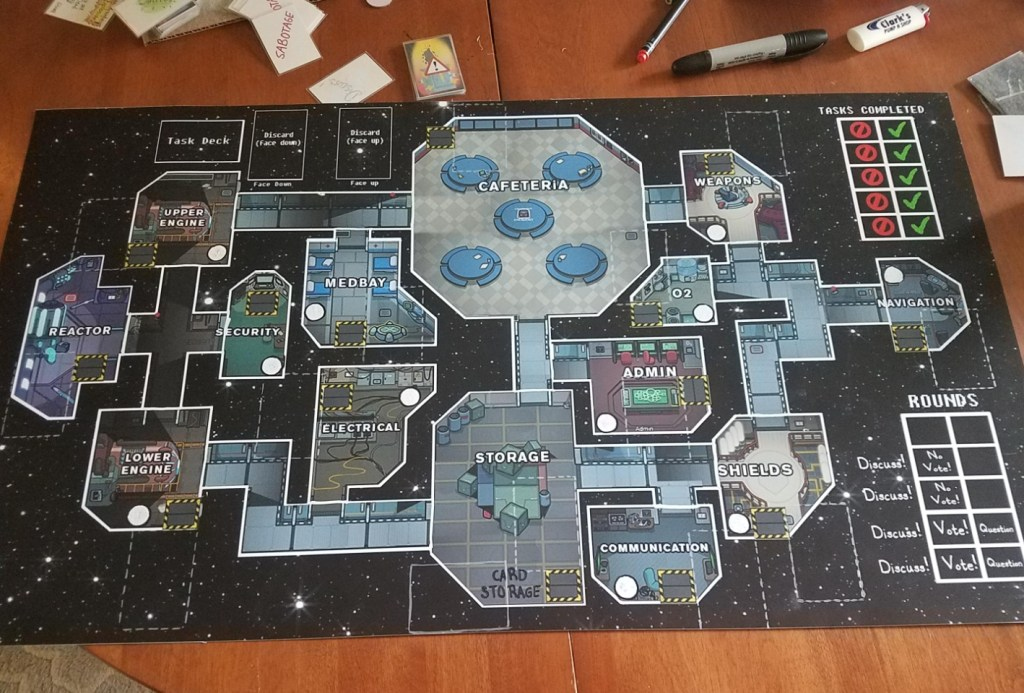 It will be our own board game Among Us 1
