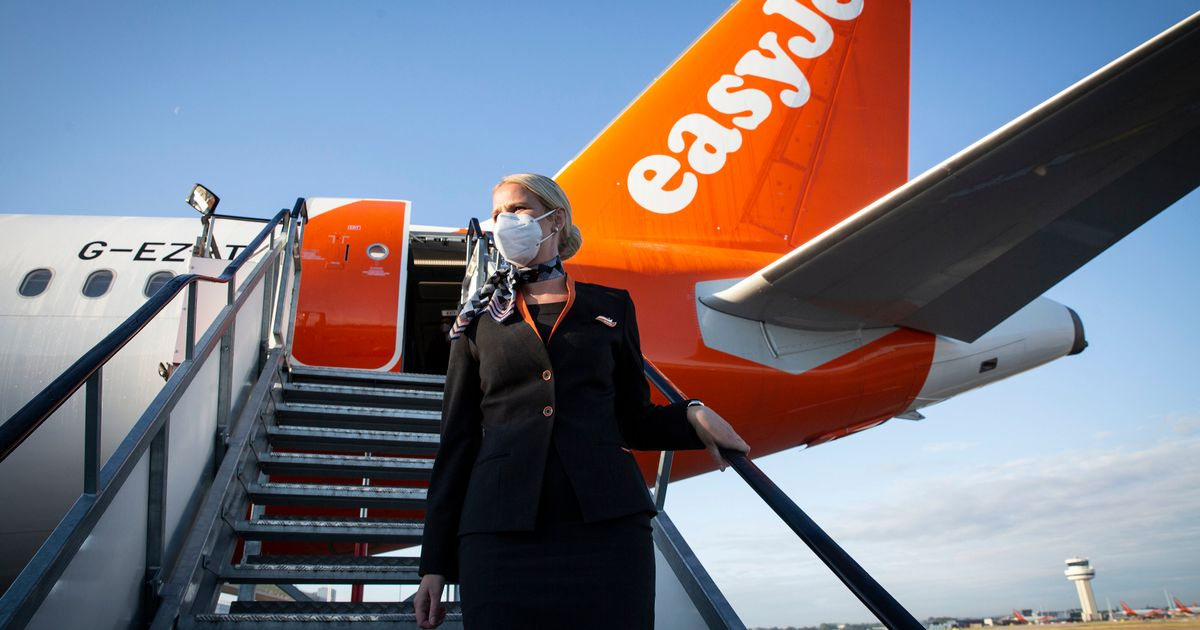 Airline easyJet rejects bombshell claim it is 'hanging by a thread'