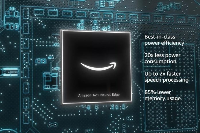 Alexa will run faster with Amazon AZ1 Neural Edge