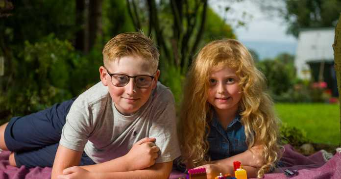 Boy saves sister's life as she chokes on LEGO with trick he learned at school