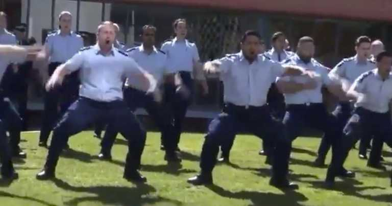 Croydon sergeant shot dead given special haka tribute by Kiwi colleagues