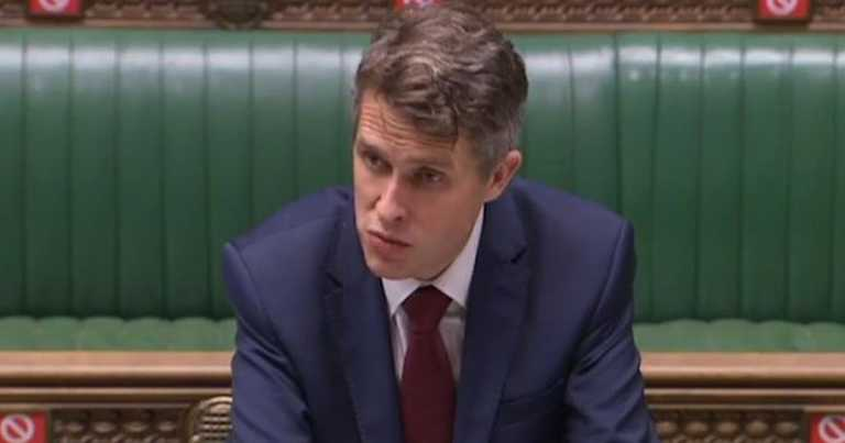 Gavin Williamson reveals plan for students to return home at Xmas