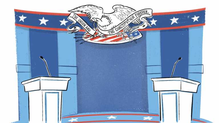 Here's Where The Candidates Stand Before The First Presidential Debate