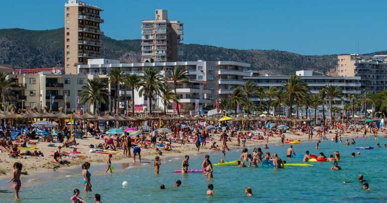 Holiday hotspots like Magaluf and Benidorm set for tough few months