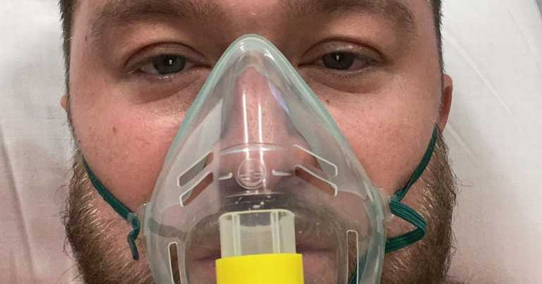 Man, 29, who thought coronavirus was 'b***s***' issues poignant plea