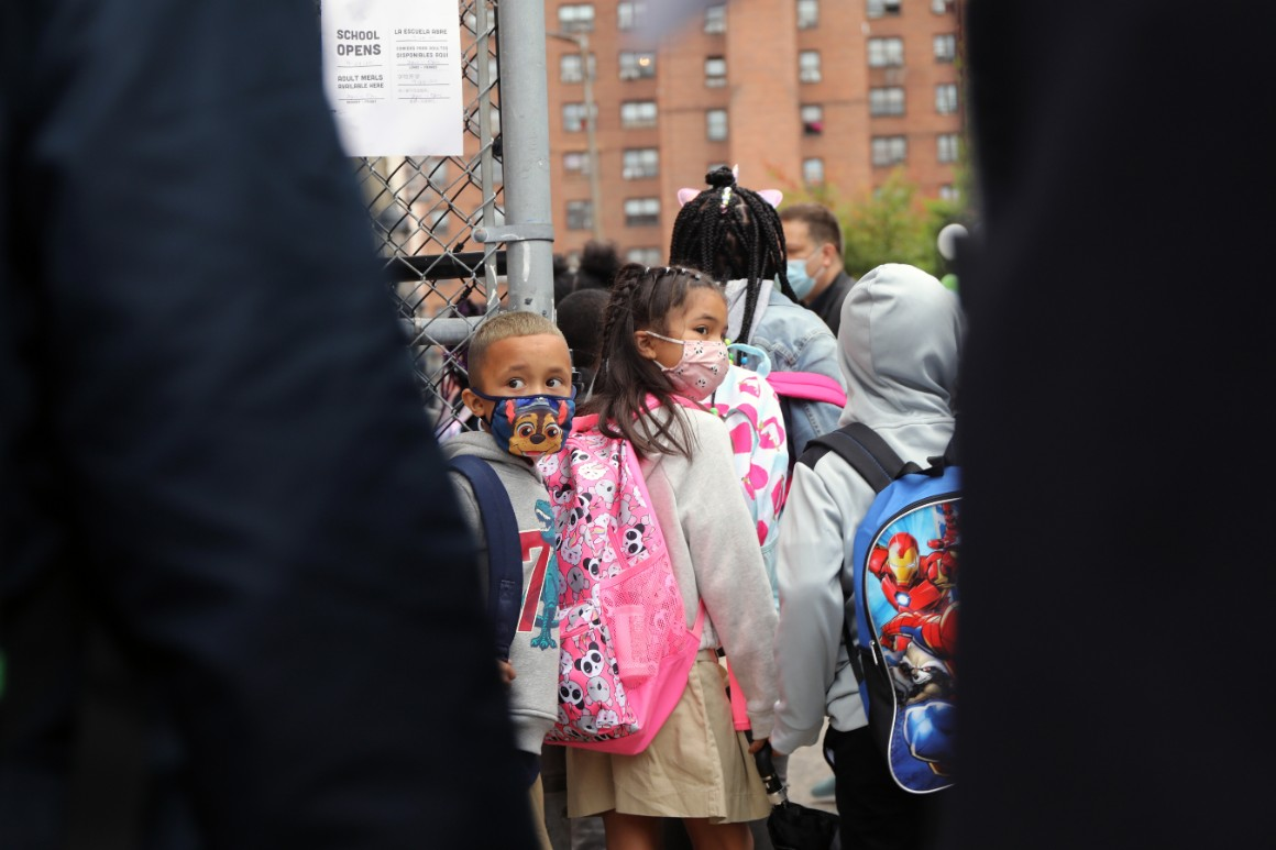 NYC infection rate spikes as students head back to school
