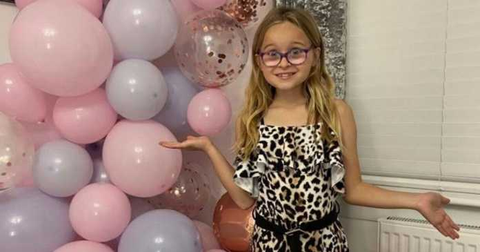 Police turn up at girl's 10th birthday party after neighbours report family