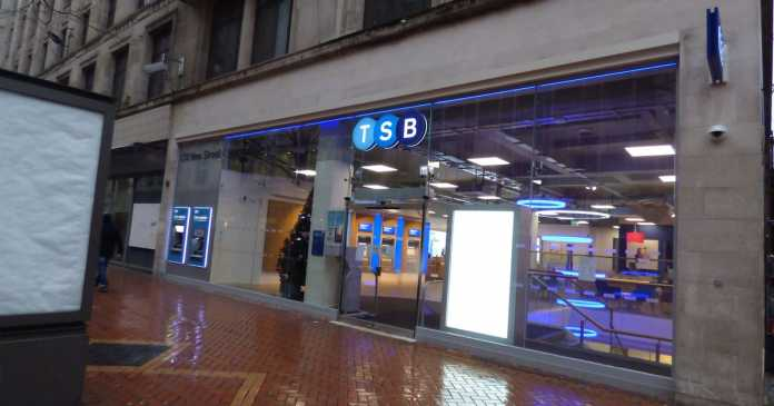TSB to close 164 branches and lose 900 staff - list so far