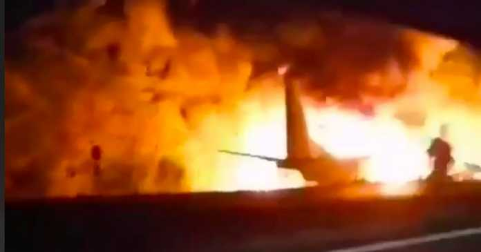 Tributes to air cadets among 26 people killed in horrific plane crash 'fireball'