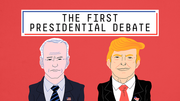 What Went Down During The First Presidential Debate