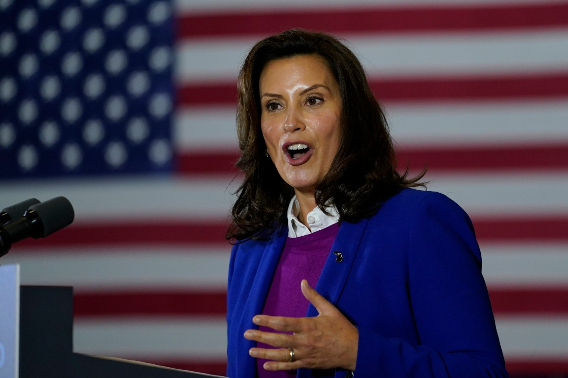 'It needs to stop': Whitmer blasts Trump over Michigan rally rhetoric
