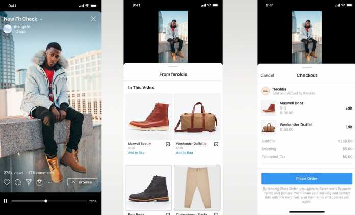 Instagram Now Brings Reels and IGTV Shopping Tools