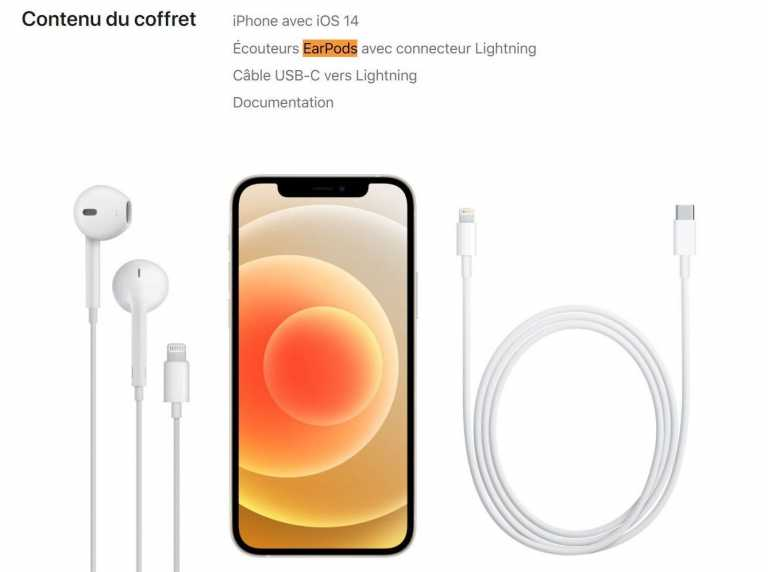 Apple Adds EarPods to iPhone 12 Box Content in France