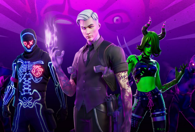 Fortnite's Halloween update reduced its install size