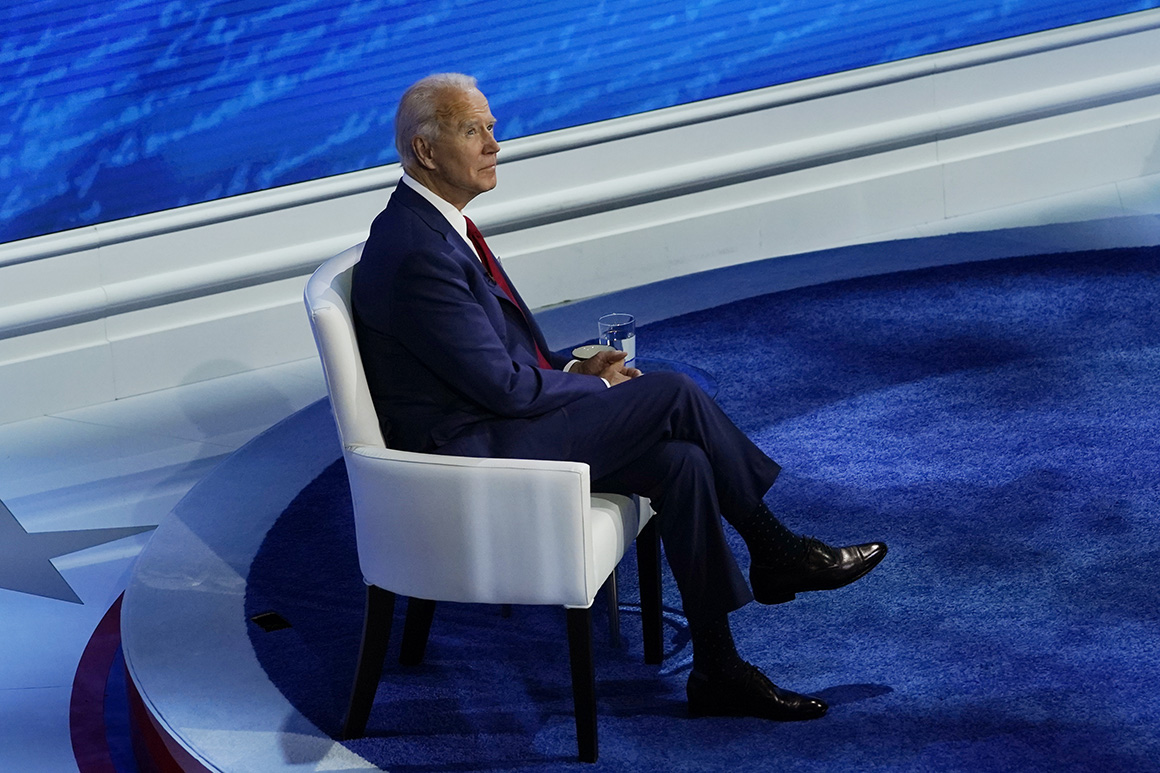 After dodging questions about court packing, Biden floats commission to study judicial reforms
