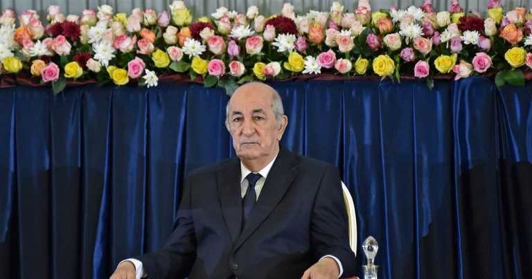 Algeria's president hospitalized, office says