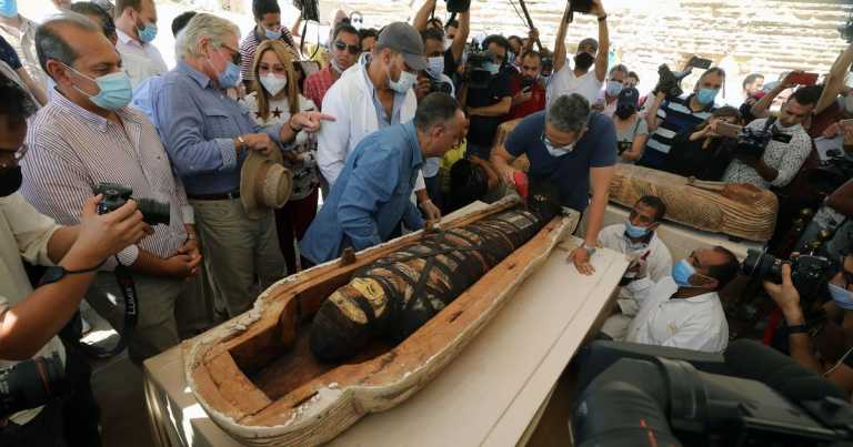 Archaeologists discover 59 brainless mummies in deep underground Egyptian tomb
