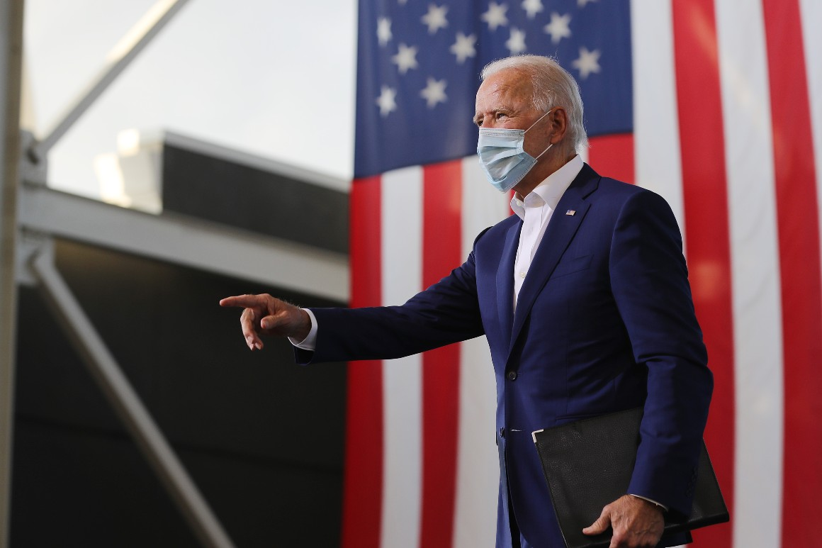 Biden campaign lashes out at New York Post